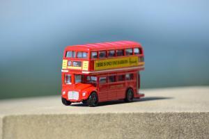 Harrods little bus copy